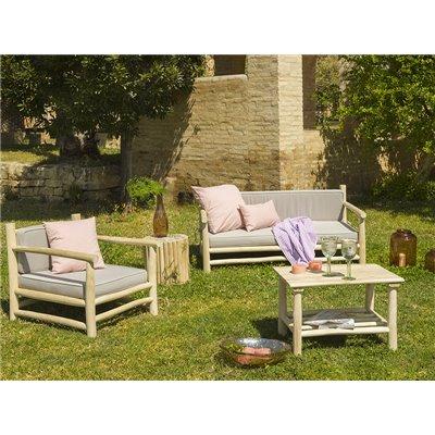 Cushion Old Panama pink 60x60 cm