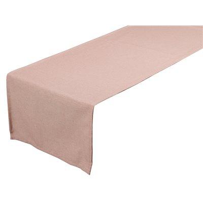 Tischläufer Old Panama rosa 40x135 cm
