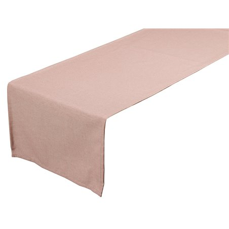 Table runner Old Panama pink 40x135 cm