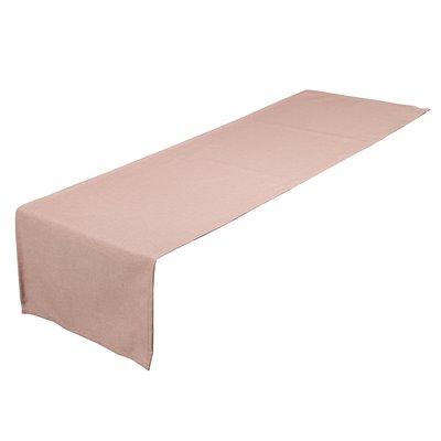 Camino de mesa Old Panamá rosa 40x135 cm