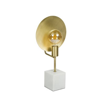 Lampe de table en marbre