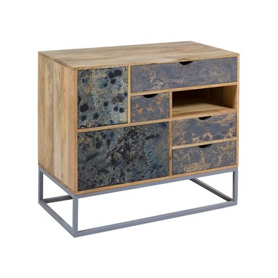 Woody vintage style Console table