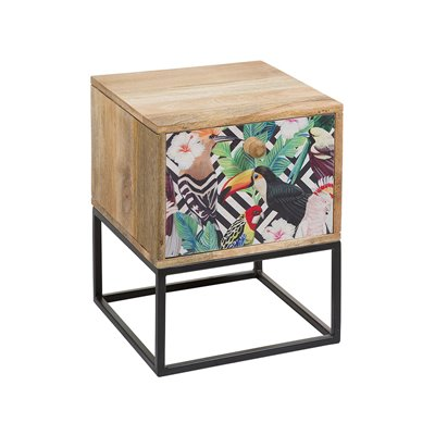 Tropic bedside table