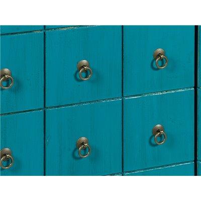 2 door wardrobe blue