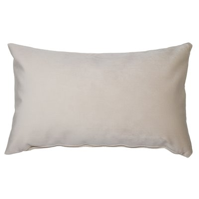 Coixí Velvet beix 30x50 cm