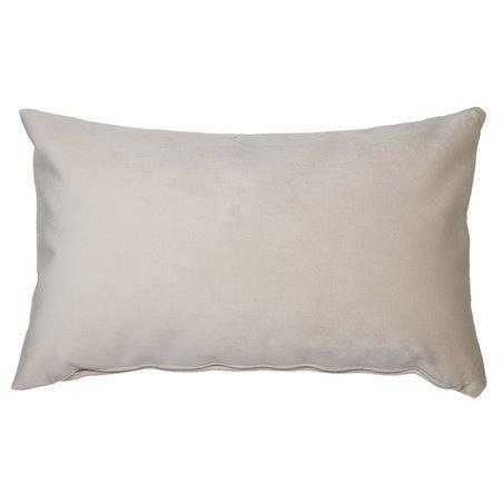 Coussin Velvet beige 30x50 cm