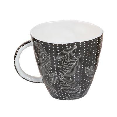 Black organic cup