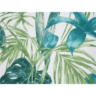 Coussin Adan vert 60x60 cm