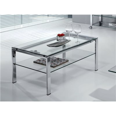 Glass coffee table Elevable (Lift table) Aremi
