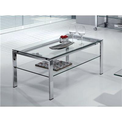 Table basse en verre Elevable (Table élévatrice) Aremi