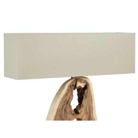 Lámpara de mesa tronco