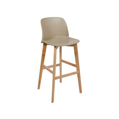 Design beige stool