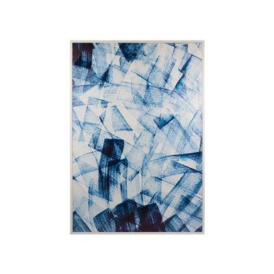 Blaue Malerei