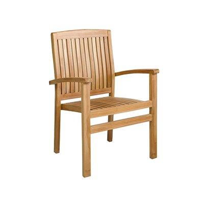Mesa de teca con 4 sillones