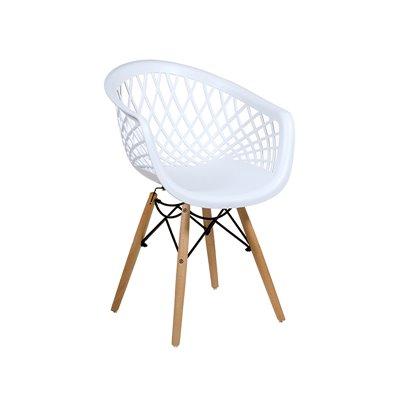 Cadira Niu blanca