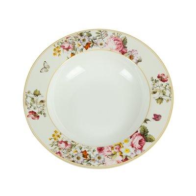 White Bloom bowl