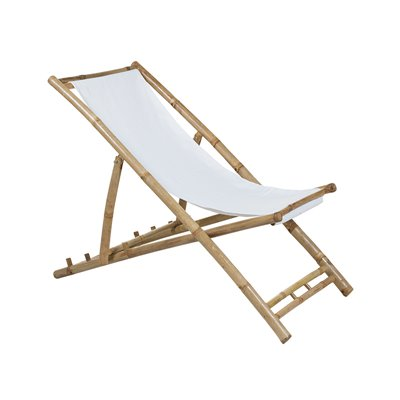 Bamboo folding beach chair