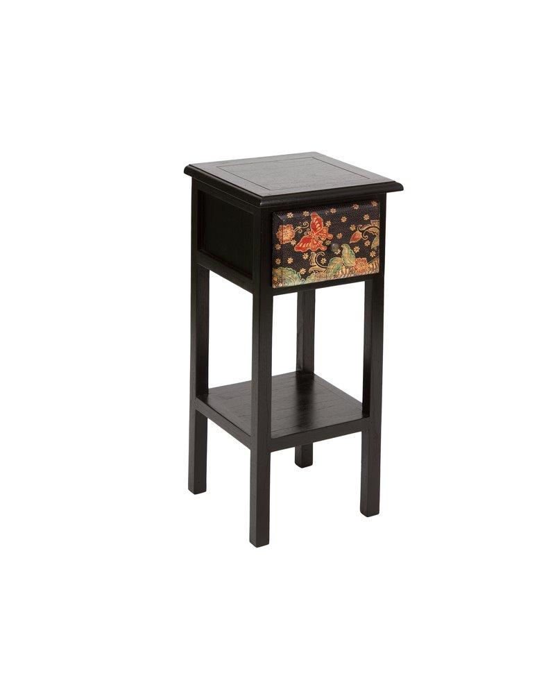 Batik pedestal table