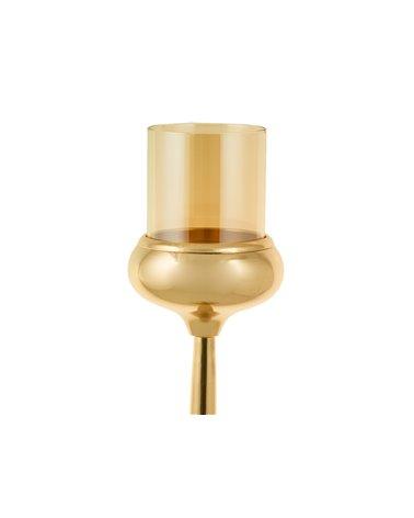 Candelabro dourado