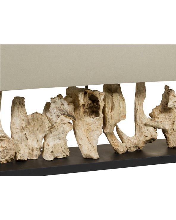 Lámpada de mesa madeira