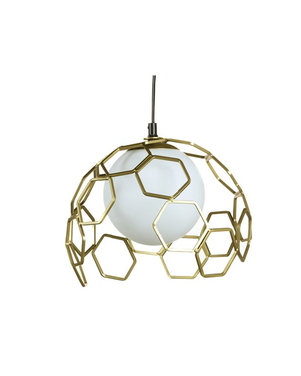 Metal ceiling lamp
