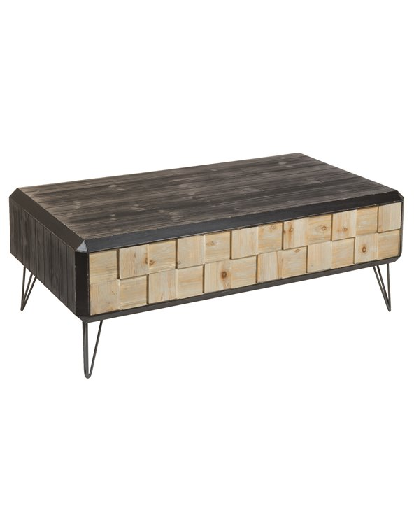 Garbí industrial style coffee table