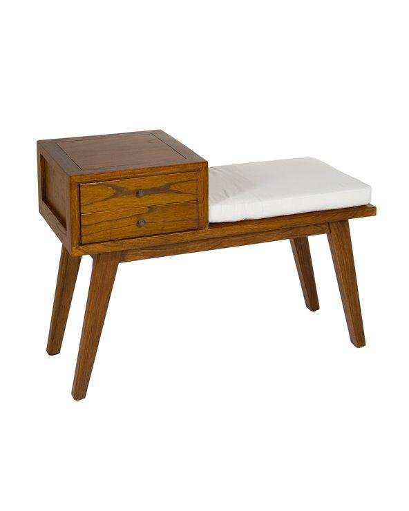 Jenki Bench with drawers
