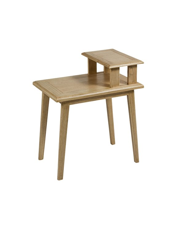 Table d'appoint Jenki 60x40 cm clair