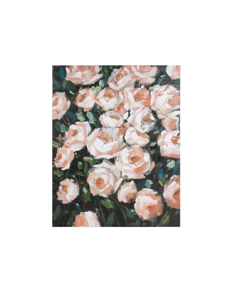 Peinture de roses