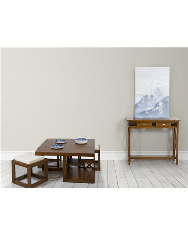 H-009 coffee table 3 stool