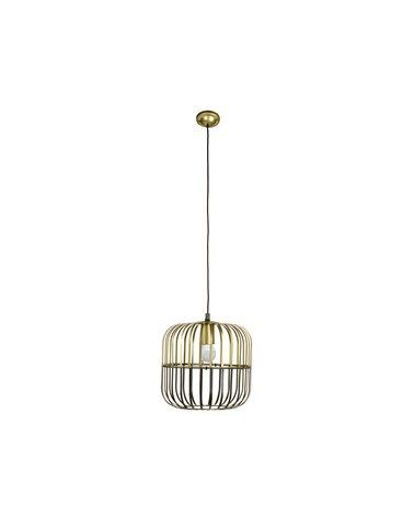 Lámpada de teito metal