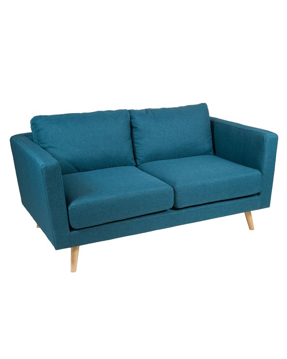 Sofa 2 seater blue Tenas