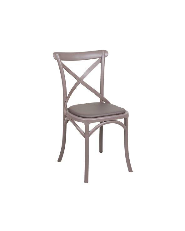 Gray blades chair