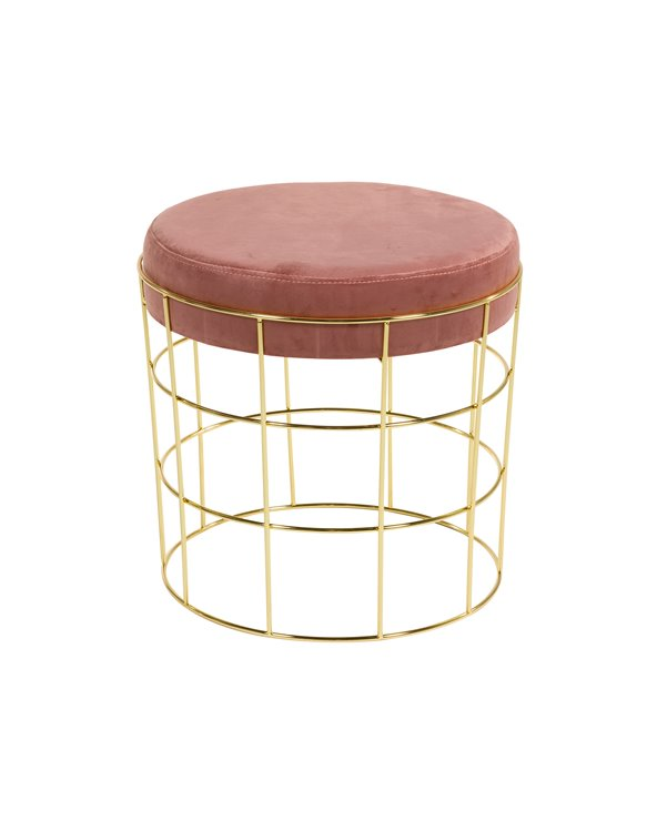 Pink Tiffany stool