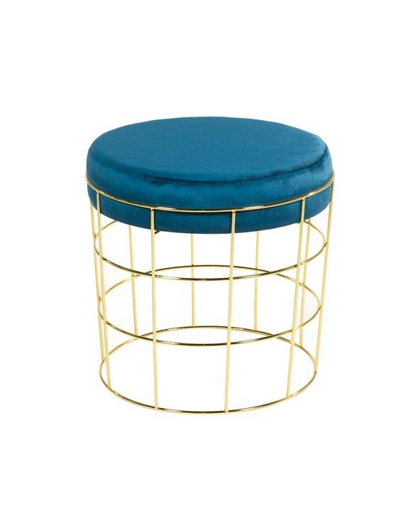 Blue Tiffany stool