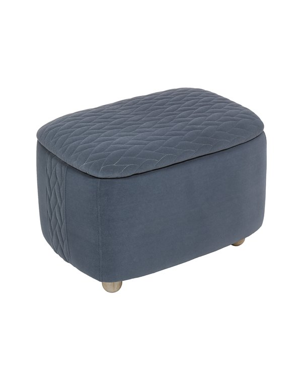 Gray box stool