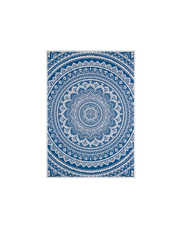 Cuadro mandala azul