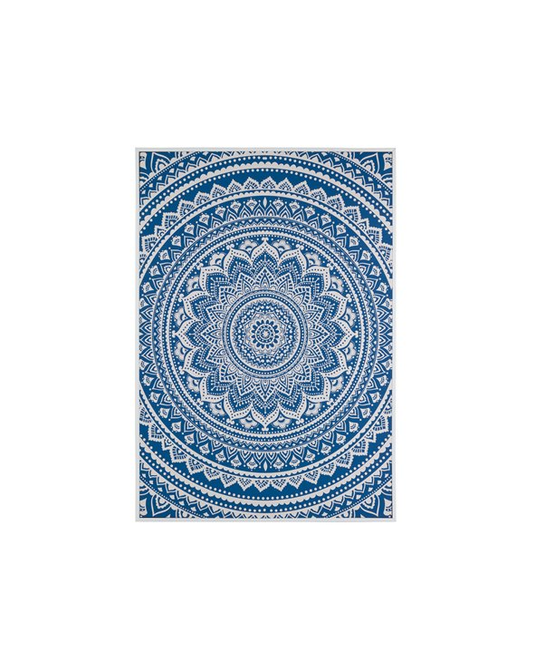 Mandala blue picture