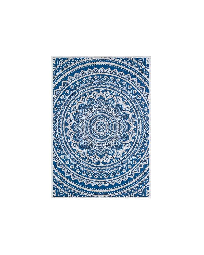 Photo bleu Mandala