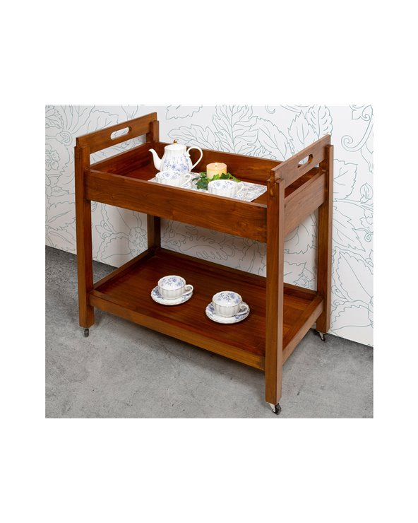 Colonial kitchen / cocktail cart