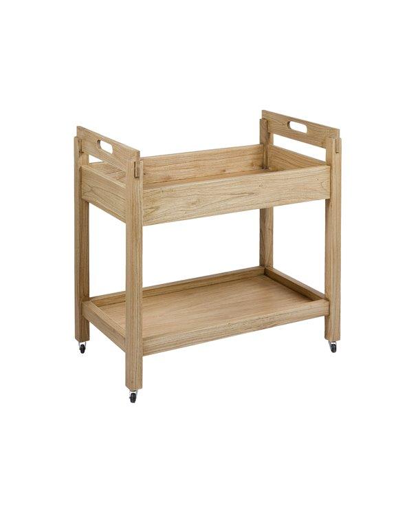 Carriño - Camareira estilo colonial madeira clara