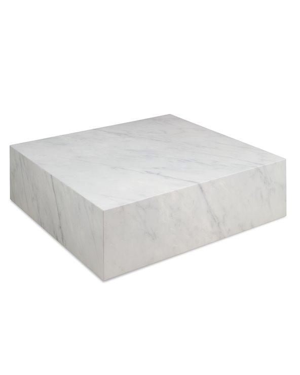 Mesa de centro Cube blanca