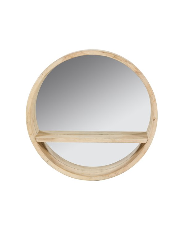 Runder Spiegel