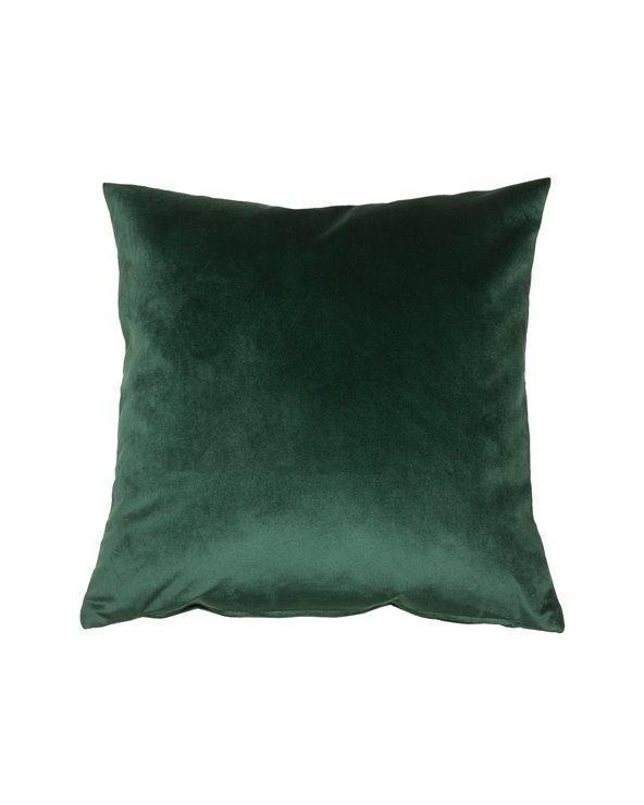 Coxín Velvet verde 45x45 cm