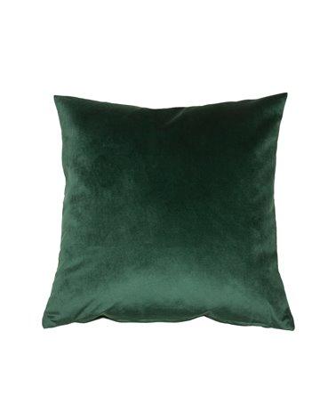Cojín Velvet verde 45x45 cm