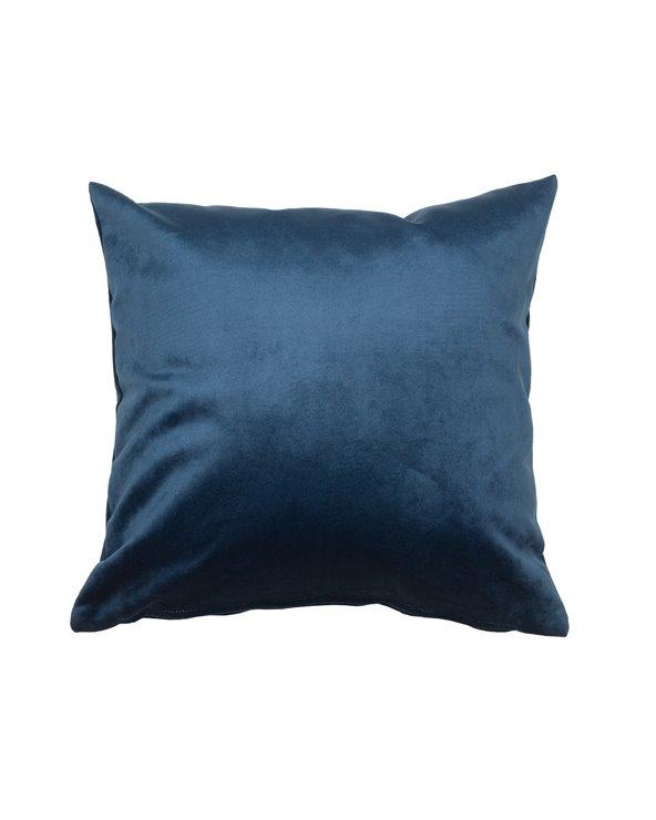 Coixí Velvet marí 45x45 cm