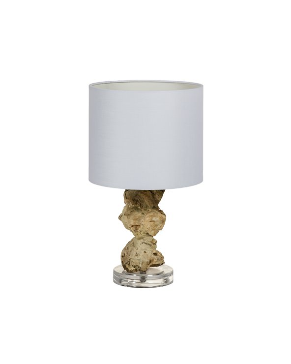 Lámpada de mesa tronco