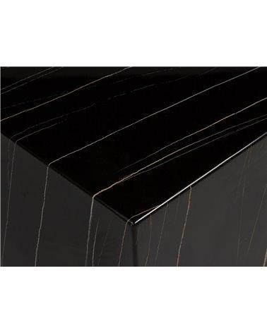 Mesa de centro Cube negra