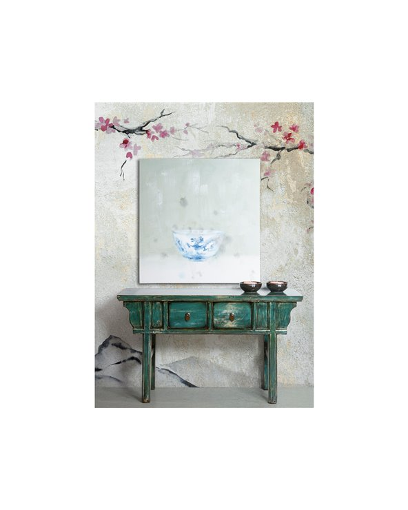 Peinture Bol bleu