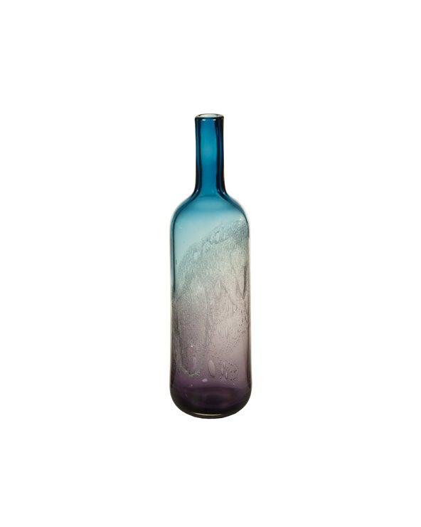 Jarrón cristal decorado